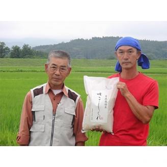 2021年10月発送開始『定期便』栽培期間農薬・肥料不使用「ササシグレ」精米5kg 全3回