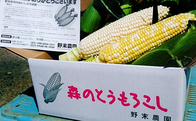 ANAのふるさと納税 | 静岡県 森町の野末農園のとうもろこし「甘々娘 ...