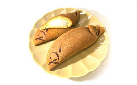 ことぶきやの 和菓子 若アユモドキ(青柚子餅入り)5個入り×2セット《求肥 小豆 鮎 京都 お土産》