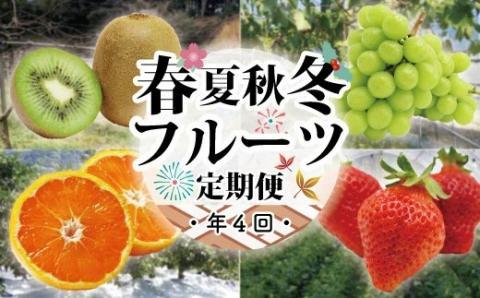 【年4回】むなかた旬のフルーツ定期便