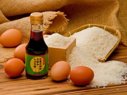 M03 地黄卵とお米と卵かけご飯用醤油のセット<2020年産米>